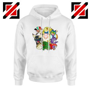 Buy Cheap Monster Hunter World Gifts Hoodie Size S-3XL White