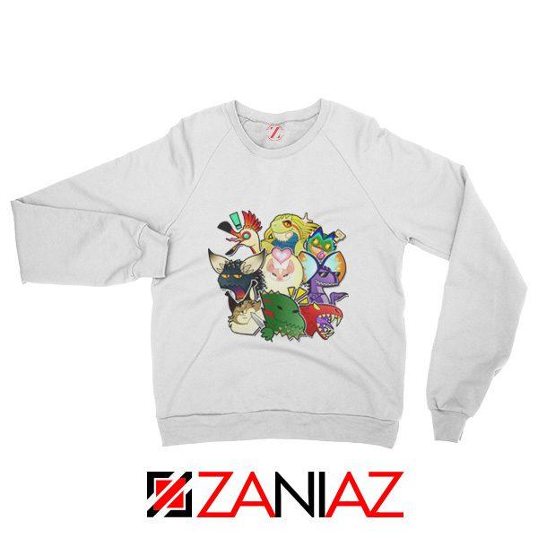 Buy Cheap Monster Hunter World Gifts Sweatshirt Size S-3XL White