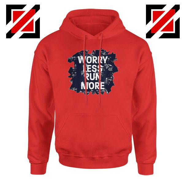 Buy Cheap Quote Hoodie GYM Workout Run More Size S-2XL Red
