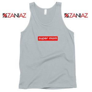 Buy Funny Super Mom Tank Top Supreme Parody Tank Top Size S-3XL Silver