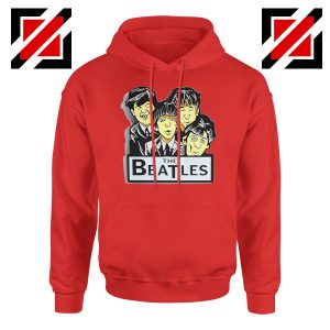 Buy The Beatles Band Hoodie Music Lover Hoodie Size S-2XL Red