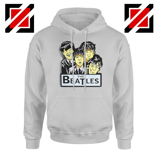 Buy The Beatles Band Hoodie Music Lover Hoodie Size S-2XL Sport Grey