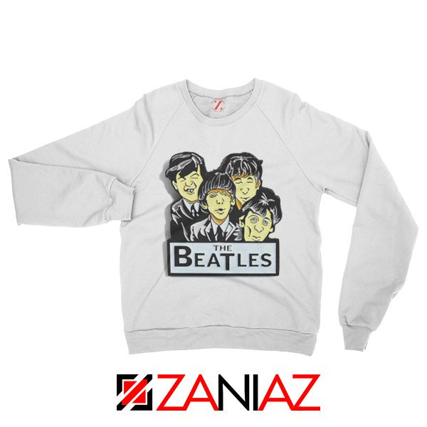 Buy The Beatles Band Sweatshirt Music Lover Sweatshirt Size S-2XL White