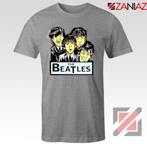 Buy The Beatles Band T shirt Music Lover Tee Shirt Size S-3XL Sport Grey