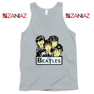 Buy The Beatles Band Tank Top Music Lover Tank Top Size S-3XL Silver