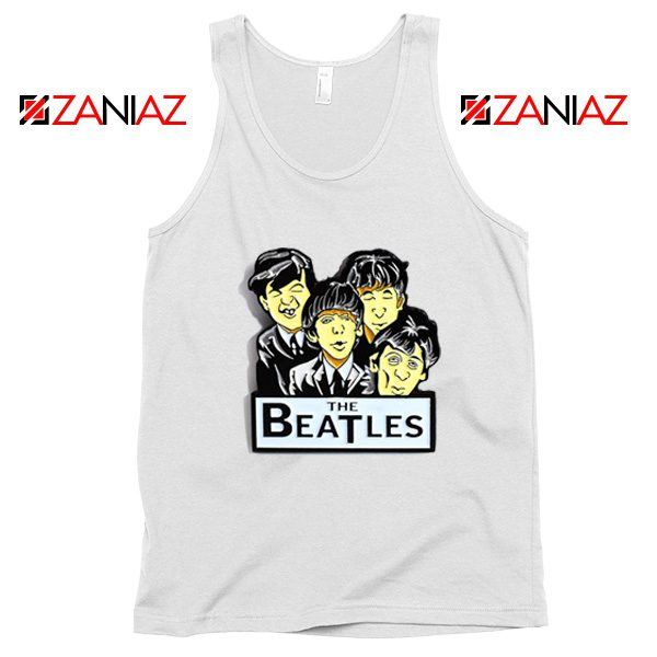 Buy The Beatles Band Tank Top Music Lover Tank Top Size S-3XL White