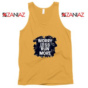 Cheap Quote Tank Top Merchandise GYM Workout Run More Size S-3XL Sunshine