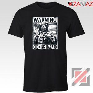 Choking Hazard Graphic T-Shirt Star Wars Darth Vader T-Shirt Size S-3XL Black