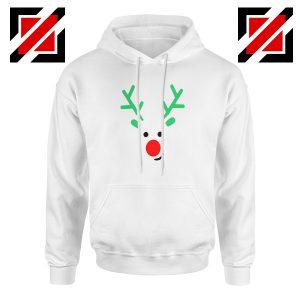 Christmas Reindeer Hoodie Merry Christmas Best Hoodie Size S-2XL White