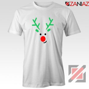 Christmas Reindeer Tee Shirt Merry Christmas T Shirt Size S-3XL White
