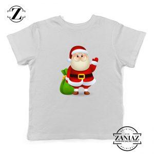 Christmas Santa Claws Gift Kids T-Shirt Size S-XL White