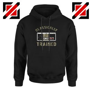 Classically Gamer Hoodie Video Game Cheap Hoodie Size S-2XL Black