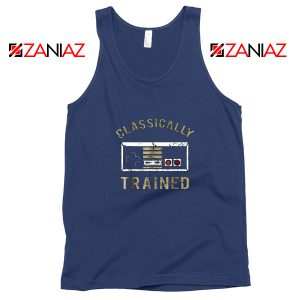 Classically Gamer Tank Top Video Game Cheap Tank Top Size S-3XL Navy Blue