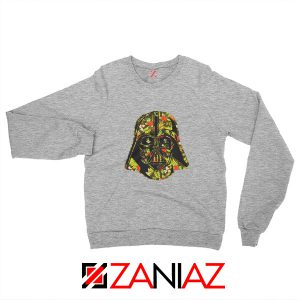 Darth Vader Hawaiian Best Sweatshirt Star Wars Sweatshirt Size S-2XL Sport Grey