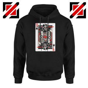 Darth Vader King of Spades Graphic Hoodie Star Wars Hoodie Size S-2XL Black