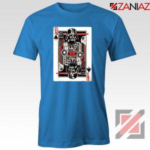 Darth Vader King of Spades T-Shirt Star Wars Tee Shirt Size S-3XL Blue