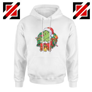 Father Christmas Hoodie Santa Claws Hoodie Size S-2XL White