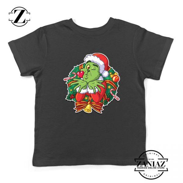 Father Christmas Santa Claws Kids T-Shirt Size S-XL Black