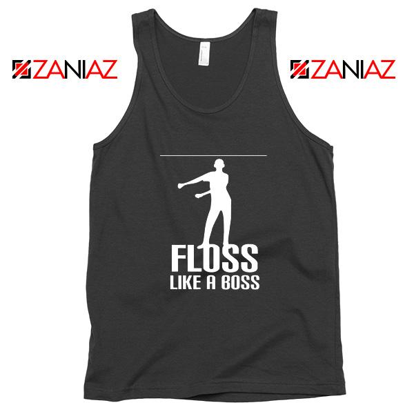Floss Like A Boss Tank Top Dance Cheap Tank Top Gift Idea Size S-3XL Black