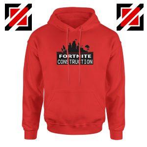Fortnite Construction Company Hoodie Parody Fortnite Hoodie Red