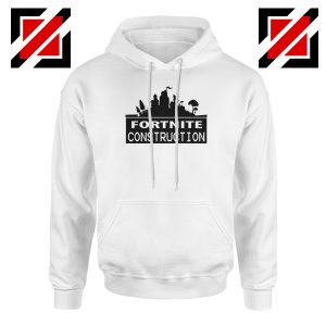 Fortnite Construction Company Hoodie Parody Fortnite Hoodie White