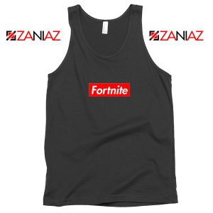 Fortnite Supreme Parody Tank Top Funny Parody Tank Top Size S-3XL Black