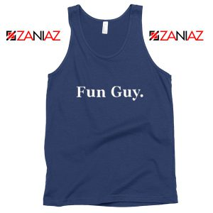 Fun Guy Kawhi Leonard NBA Tank Top Toronto Raptors Tank Top Navy Blue