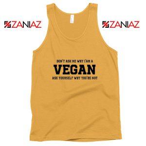 Funny Humor Vegan Tank Top Vegetarian Tank Top Size S-3XL Sunshine
