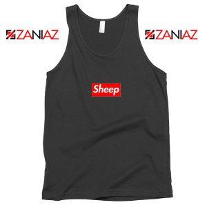 Funny Sheep Tank Top Supreme Parody Best Tank Top Size S-3XL Black