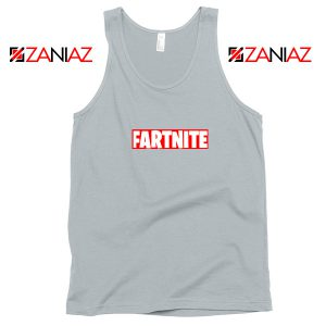 Game Fortnite Tank Top Funny Fartnite Tank Top Size S-3XL Silver