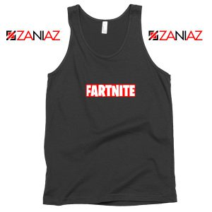 Game Fortnite Tank Top Funny Fartnite Tank Top Size S-3XL Silver Black