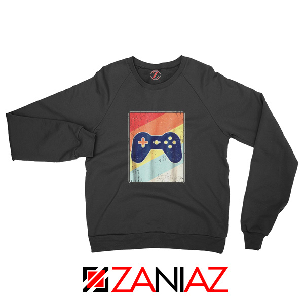 Gaming Best Sweatshirt Retro Video Game Women Sweatshirt Size S-2XL Black