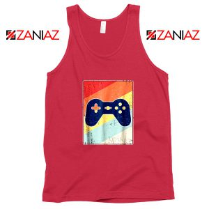 Gaming Best Tank Top Retro Video Game Women Tank Top Size S-3XL Red