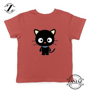 Hello Kitty Youth Shirt Funny Cat Lover Kids Tshirt Size S-XL Red