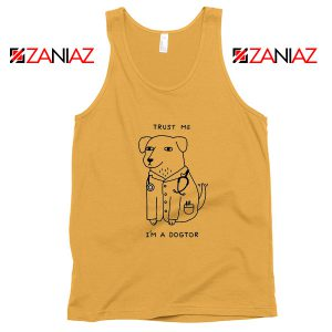 I am A Dogtor Tank Top Funny Animal Tank Top Size S-3XL Sunshine