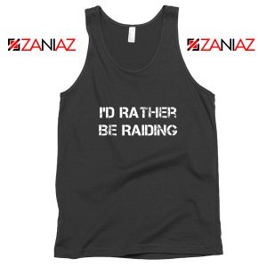 I'd Rather Gaming Tank Top Video Game Lover Tank Top Size S-3XL Black