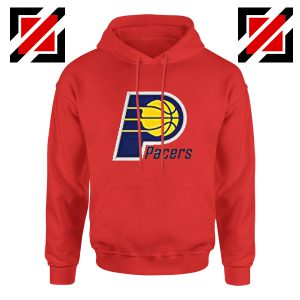 Indiana Pacers Logo Hoodie Funny NBA Best Hoodie Size S-2XL Red