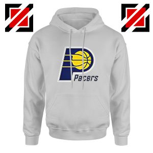 Indiana Pacers Logo Hoodie Funny NBA Best Hoodie Size S-2XL Sport Grey