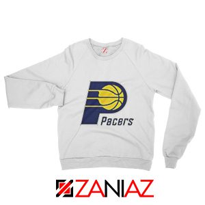 Indiana Pacers Logo Sweatshirt Funny NBA Best Sweatshirt Size S-2XL White
