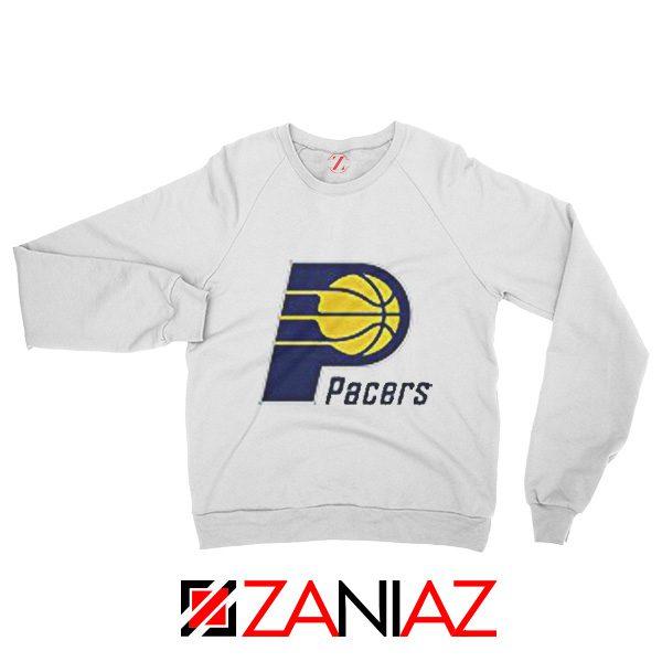 Indiana Pacers Logo Sweatshirt Funny NBA Best Sweatshirt Size S-2XL White