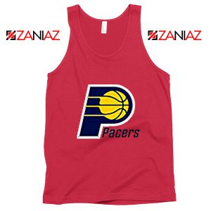 Indiana Pacers Logo Tank Top Funny NBA Best Tank Top Size S-3XL Red