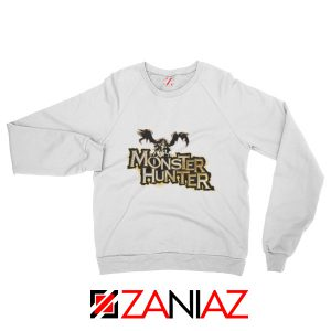 Monster Hunter Sweatshirt Designs Video Games Sweatshirt Size S-2XL White