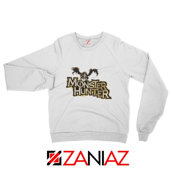 Monster Hunter Sweatshirt Designs Video Games Sweatshirt Size S-2XL White