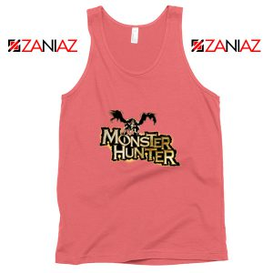 Monster Hunter Tank Top Designs Video Games Tank Top Size S-3XL Coral