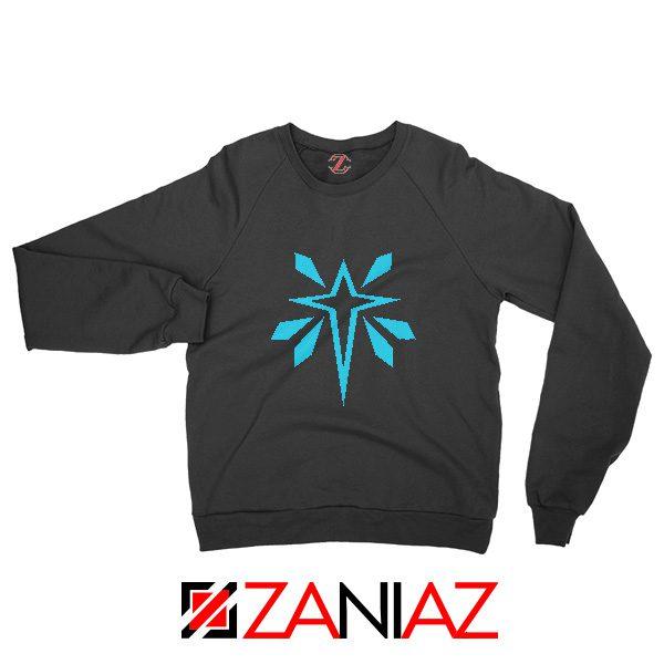 Monster Hunter World Logo Sweatshirt Video Games Gifts Sweatshirt Black
