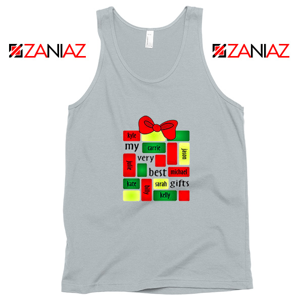 My Very Best Gifts Personalized Tank Top Christmas Tank Top Size S-3XL Silver