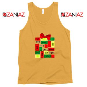 My Very Best Gifts Personalized Tank Top Christmas Tank Top Size S-3XL Sunshine