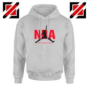 Never Broke Again NBA Hoodie Best Funny NBA Hoodie Size S-2XL Sport Grey