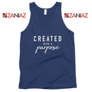 Purpose Gift Women's Tank Top Best Mom Tank Top Size S-3XL Navy Blue