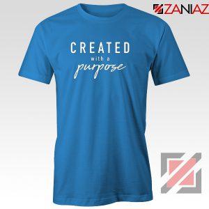 Purpose Gift Women's Tshirt Best Mom Tee Shirt Size S-3XL Blue